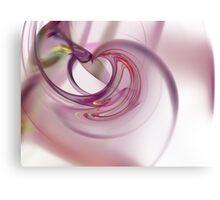 Heart Fractal Canvas Print