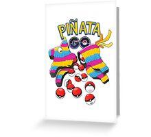 Pinata GO: Pokemon Mexican Style Greeting Card
