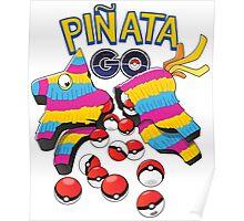 Pinata GO: Pokemon Mexican Style Poster
