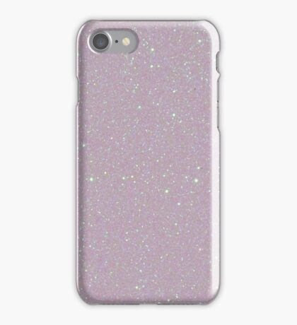 White Snow Pearl Opalescent Glitter iPhone Case/Skin