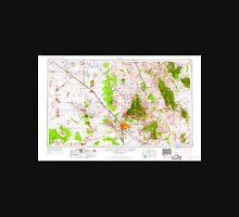 USGS TOPO Map Arizona AZ Tucson 315609 1956 250000 Unisex T-Shirt