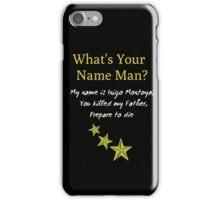 Hamilton Meets Princess Bride iPhone Case/Skin