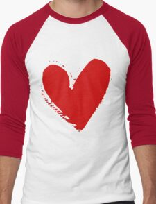 With love. Men's Baseball ¾ T-Shirt