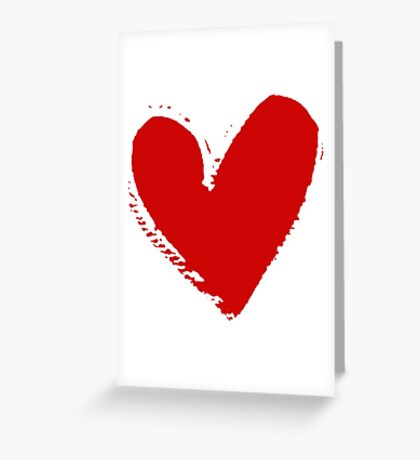 With love. Greeting Card