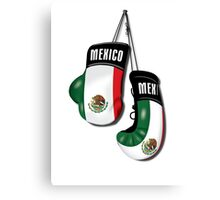 MEXICAN BOXING GLOVES Canvas Print