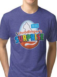 Schrödinger's Surprise Tri-blend T-Shirt