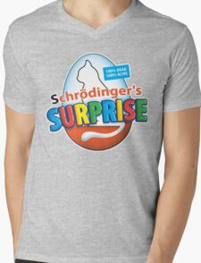 Schrödinger's Surprise Mens V-Neck T-Shirt