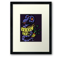 Toxic Pokemon Framed Print
