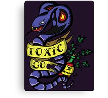 Toxic Pokemon Canvas Print