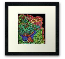 Ganja Guardians #1:Bubba {Real} Framed Print
