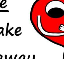 Love Yourself - Cute Mr Heart Motivation Be Happy Sticker