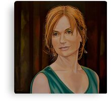 Isabelle Huppert Painting Canvas Print