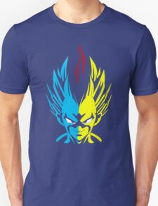 Three Form of Vegeta Super Saiyan Unisex T-Shirt