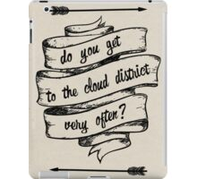 Cloud District iPad Case/Skin