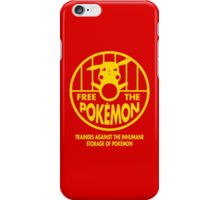 Free The Monster iPhone Case/Skin