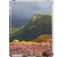Moody Heather iPad Case/Skin