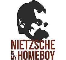Nietzsche is My Homeboy Photographic Print