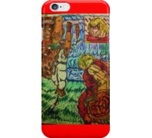 {SF}: Silly Ryu, Shoryukens are for Kens!{Colored} iPhone Case/Skin