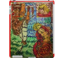 {SF}: Silly Ryu, Shoryukens are for Kens!{Colored} iPad Case/Skin
