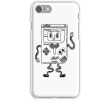 Goofy Game Boy Guy iPhone Case/Skin
