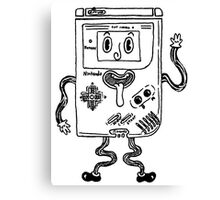 Goofy Game Boy Guy Canvas Print