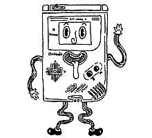 Goofy Game Boy Guy Photographic Print