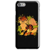 Arcanine - with background iPhone Case/Skin