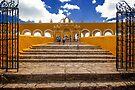 Entrance to Convent of San Antonio de Padua in Izamal by Yukondick