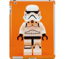 Lego Storm Trooper on Orange iPad Case/Skin