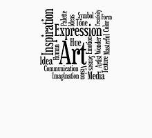 Art and Creativity Artist's Word Cloud Unisex T-Shirt
