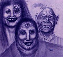 FREAK FAMILY by dgstudio