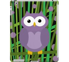 Purple owl iPad Case/Skin