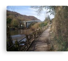 The Ironbridge. Metal Print