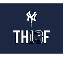 TH13F - Red Sox Nation Salutes A-Rod Photographic Print