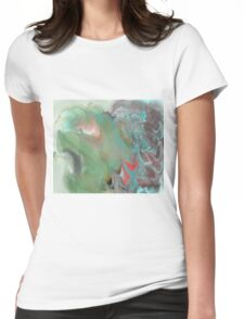 S Turtle  Womens Fitted T-Shirt