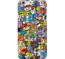 Monster Doodle of All Generation iPhone Case/Skin