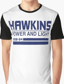 Hawkins Power and Light Graphic T-Shirt
