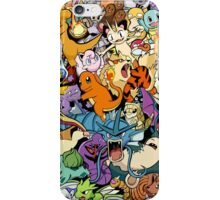 First Generation Monster Doodle iPhone Case/Skin