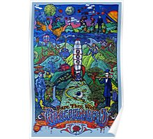 Grateful Dead - Fare Thee Well - 50 years (number 7) Poster