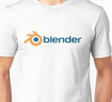 blender 3D design graphics animation render Unisex T-Shirt