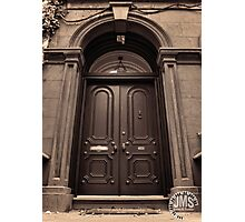 Emma Lazarus Door Photographic Print