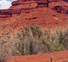 RT 14 - Monument Valley - Arizona Sticker