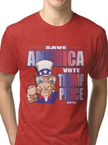 SAVE AMERICA Tri-blend T-Shirt