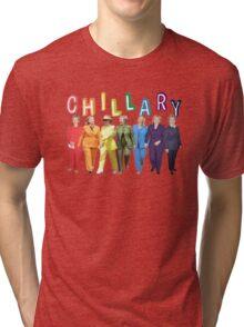 Hillary Clinton Pantsuit white Tri-blend T-Shirt