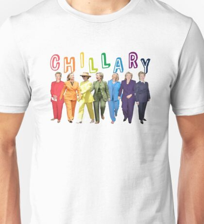 Hillary Clinton Pantsuit white Unisex T-Shirt