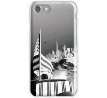 America- Black and White iPhone Case/Skin