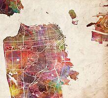 San Francisco by MapMapMaps