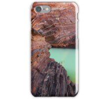 Hamersley Gorge rock colours - Pilbara iPhone Case/Skin