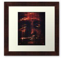 Red II Framed Print