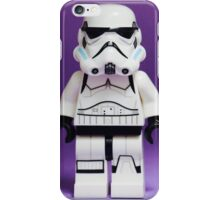 Purple Lego Storm Trooper iPhone Case/Skin